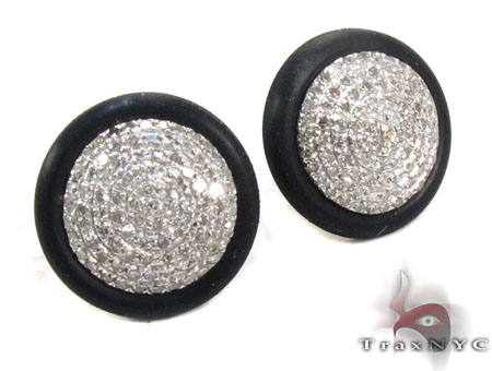 Prong Diamond Earrings 30539 Stone