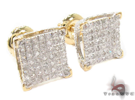 Prong Diamond Earrings 32055 Stone