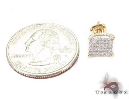 Prong Diamond Earrings 32055 Stone
