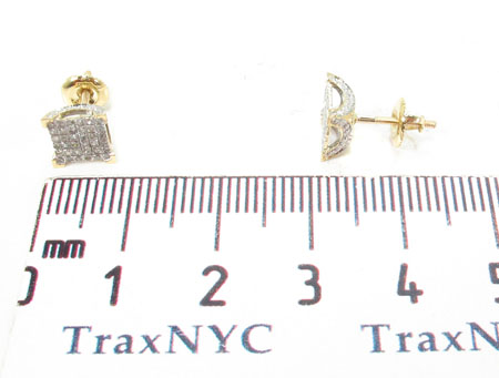Prong Diamond Earrings 32057 Stone