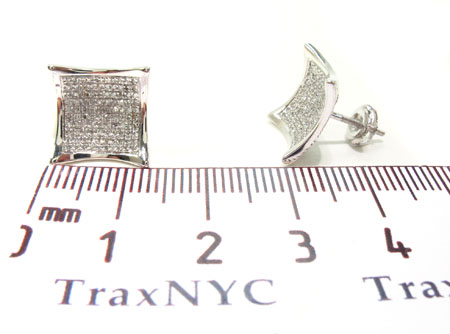 Prong Diamond Earrings 32689 Stone