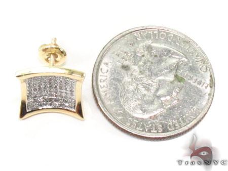 Prong Diamond Earrings 32710 Stone