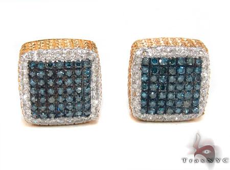 Prong Diamond Earrings Stone