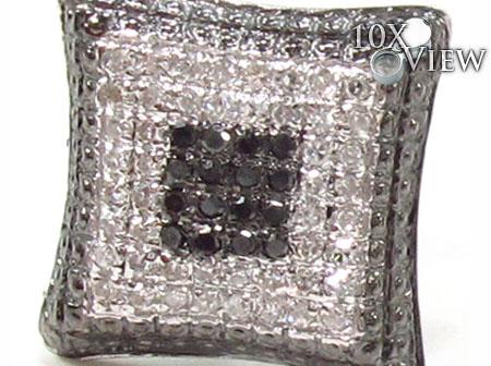 Prong Diamond Earrings 32877 Stone