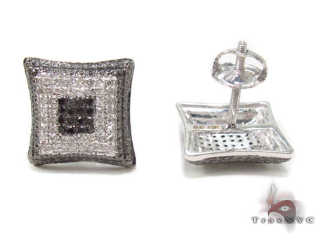 Prong Diamond Earrings 32877 Stone