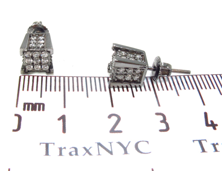 Prong Diamond Earrings 32968 Stone