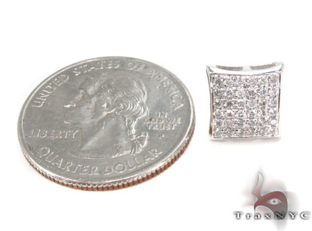 Prong Diamond Earrings 33244 Stone