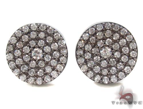 Prong Diamond Earrings 34036 Stone