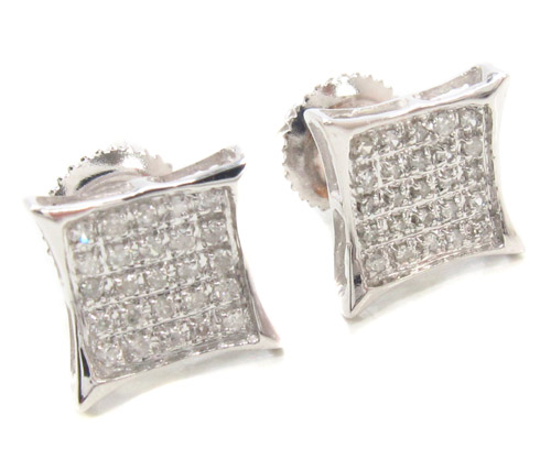 Prong Diamond Earrings 34901 Style