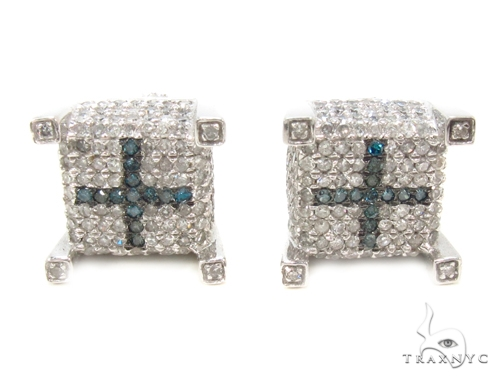 Prong Diamond Earrings 35290 Stone