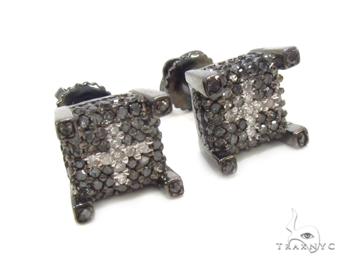 Prong Diamond Earrings 35296 Stone