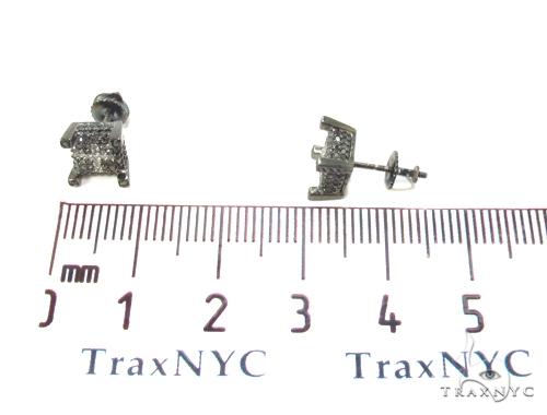 Prong Diamond Earrings 35296 Stone