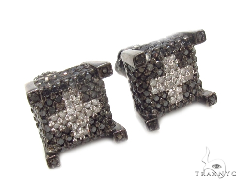 Prong Diamond Earrings 35311 Stone