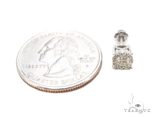 Prong Diamond Earrings 35922 Stone