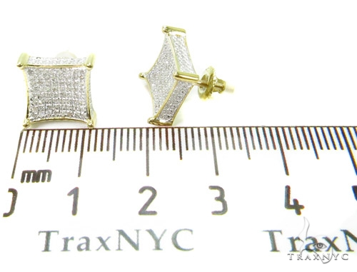 Prong Diamond Earrings 37659 Stone