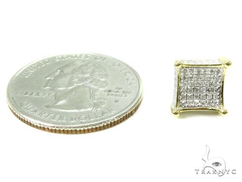 Prong Diamond Earrings 37658 Stone