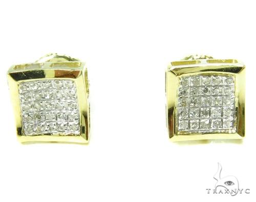 Prong Diamond Earrings 37661 Stone
