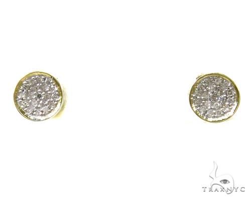 Prong Diamond Earrings 37677 Stone