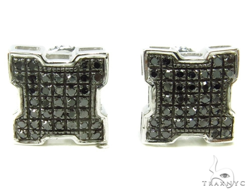Prong Diamond Earrings 37797 Stone
