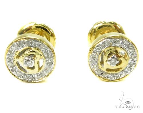 Prong Diamond Earrings 37808 Stone