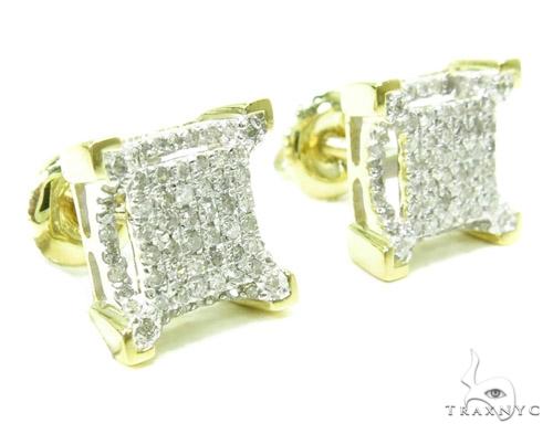 Prong Diamond Earrings 37905 Stone