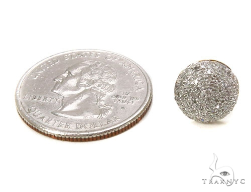 Prong Diamond Earrings 39508 Stone
