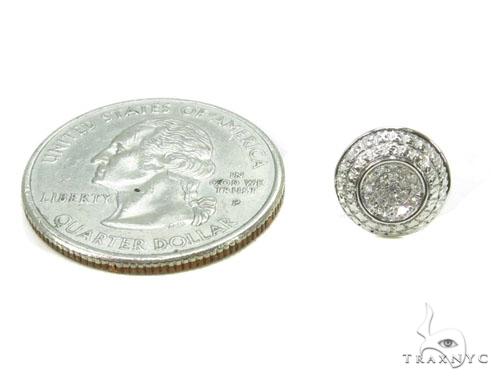 Prong Diamond Earrings 39661 Stone