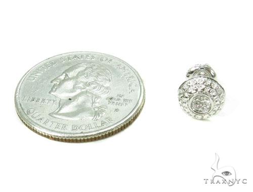 Prong Diamond Earrings 39662 Style