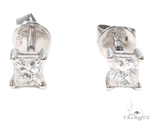 Prong Diamond Earrings 39849 Style