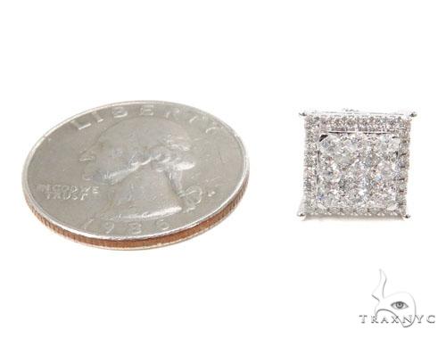 Prong Diamond Earrings 40613 Stone