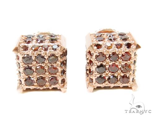 Prong Diamond Earrings 40689 Stone