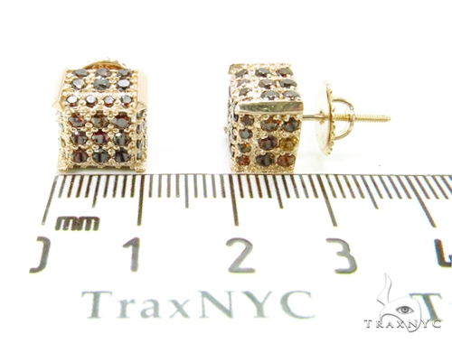Prong Diamond Earrings 40689 Stone