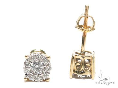 Prong Diamond Earrings 40888 Stone