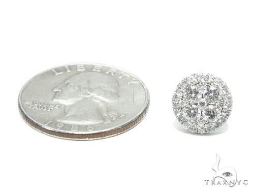 Prong Diamond Earrings 41754 Stone