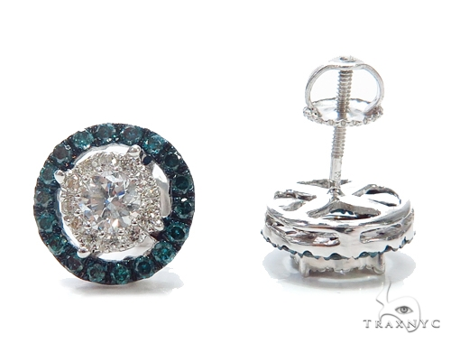 Prong Diamond Earrings 42515 Stone