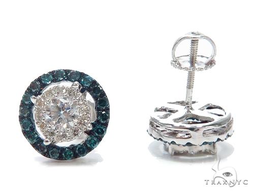 Prong Diamond Earrings 42515 Stone