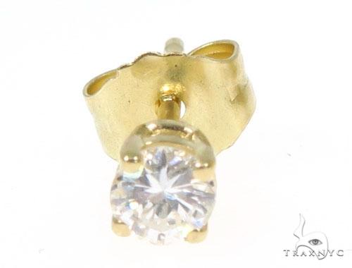 Prong Diamond Earrings 43238 Stone