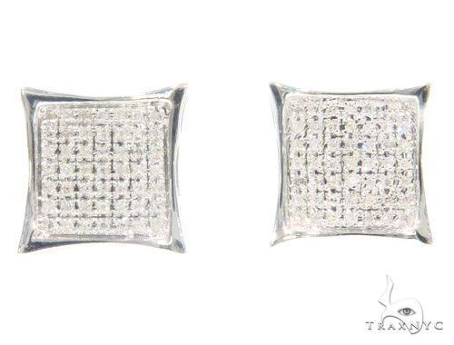 Prong Diamond Earrings 44326 Stone