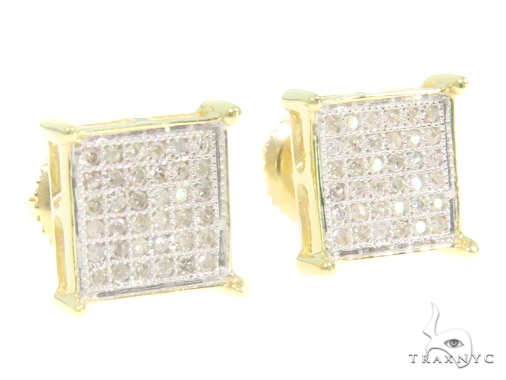 Prong Diamond Earrings 44327 Stone