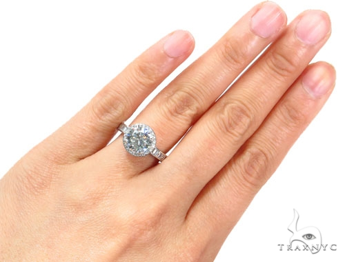 Prong Diamond Engagement Ring 41813 Engagement