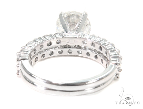 Prong Diamond Engagement Ring Set 44610 Engagement