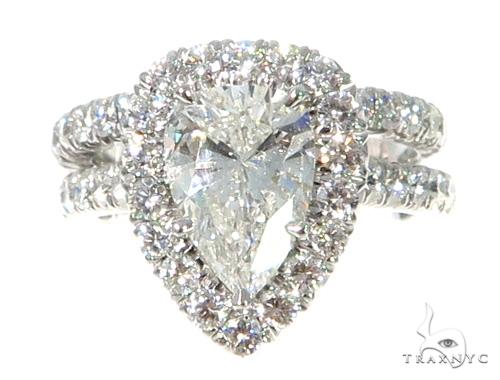 Prong Diamond Engagement Ring Set 48995 Engagement