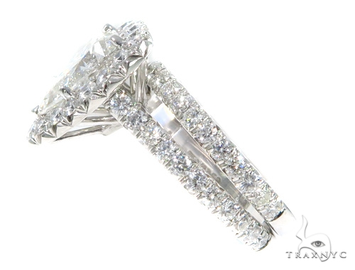 Prong Diamond Engagement Ring Set 48995 Engagement