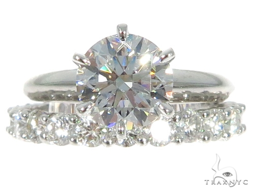 Prong Diamond Engagement Ring Set 49000 Engagement