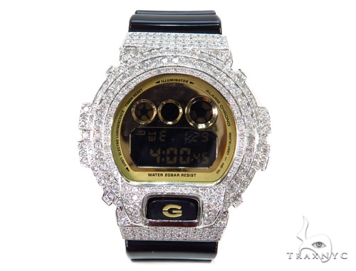 Prong Diamond G Shock Watch-3230 40777 G-Shock