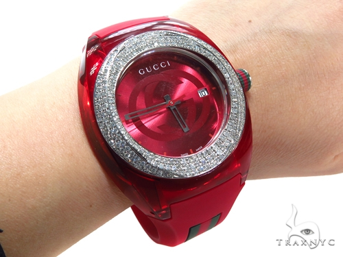 Prong Diamond Gucci Sync XXL Watch 40847 Gucci