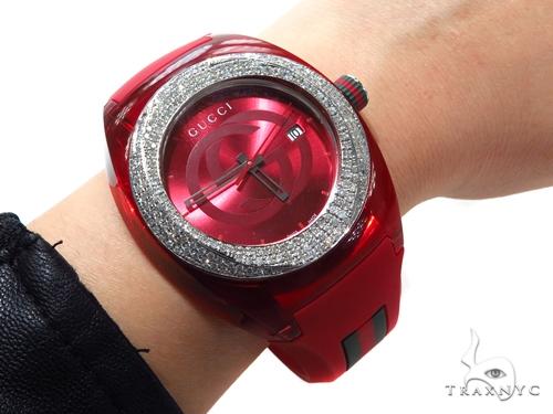 Prong Diamond Gucci Sync XXL Watch 40847 Gucci
