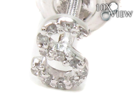 Prong Diamond Initial\'S Stone