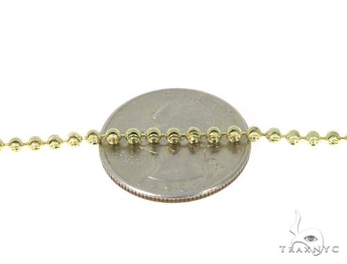 Prong Diamond Jesus Moon Cut Chain Set 45311 Style