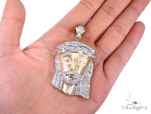 Prong Diamond Jesus Piece 40564 Style